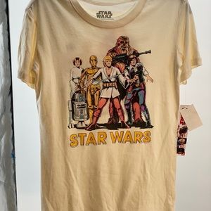Brand new Star Wars tee xs